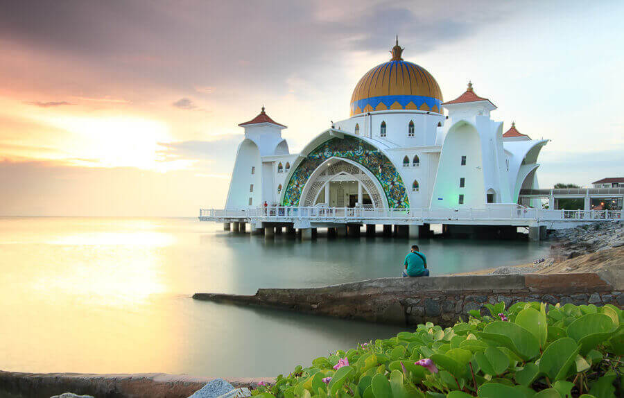 11. Malacca Straits Mosque